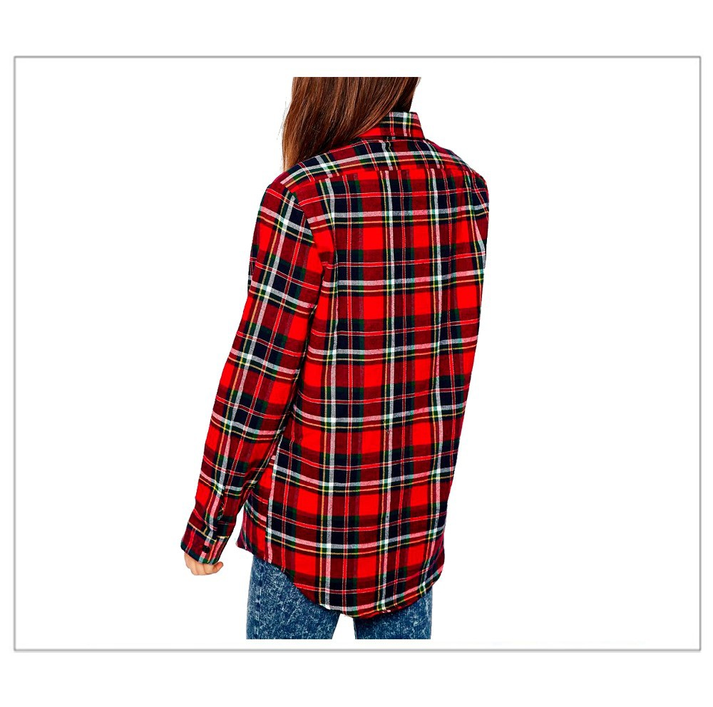 2015-Boutique-Flannel-Shirt-Long-Sleeve-Red
